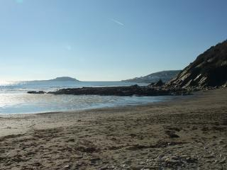 Looking out towards Looe Island
