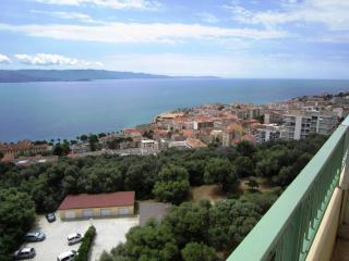 Vue panoramique sur le golfe d'Ajaccio.