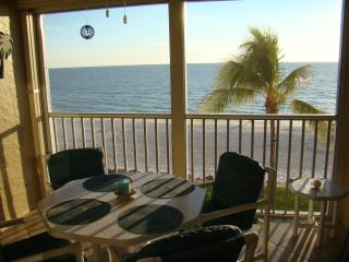 Beautiful View of the Gulf of Mexico from our Screened Lanai