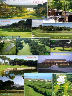 Stunning golf courses