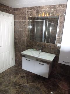 Newly refurbished bathroom .. WOW !