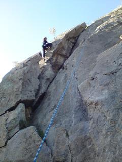 Le site d'escalade de Caunes Minervois
