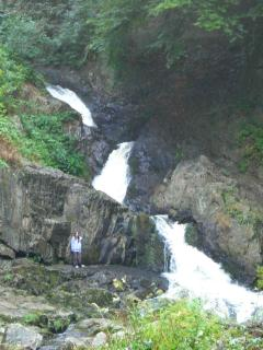 The waterfalls at Mortain are very peaceful and cool on a hot summers day (10 minutes away).