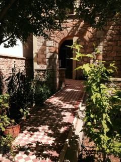 Entrance to Apartment from Garden
