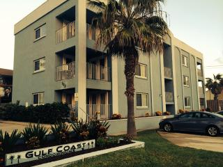 Gulf Coast Condos. Our unit is on the far side of this photo, second floor.
