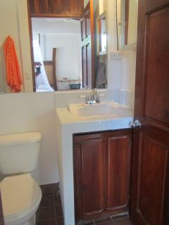 Newly renovated - clean and bright bathroom.