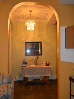 View of foyer from Living Room