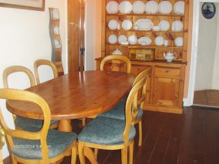 Large dining table  - off lounge and Kitchen