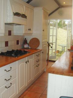 Lovely Galley Kitchen fully equipt with everything you would need for your stay