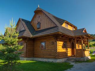 CHALÚPKY U BABKY*** - log cabins, hottub, sauna