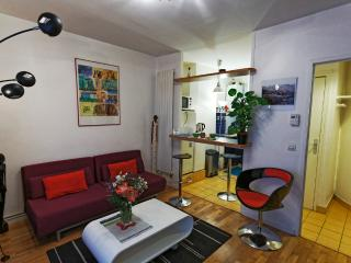 Artist's Two-Room Apartment - Montmartre, Paris