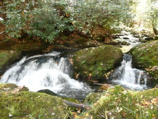 Rushing Waters Cabin-Romantic Waterfall Cabin, Gatlinburg