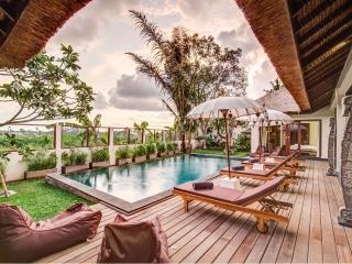 Refined Balinese style villa with staff