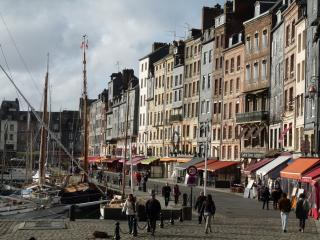 The Grey House in Honfleur