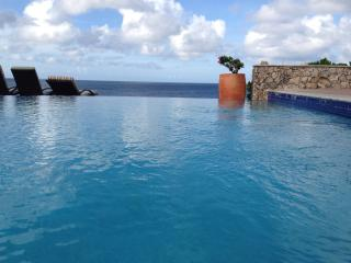 There is no prettier place to soak in an infinity pool.