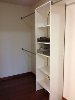 And walk-in closet!