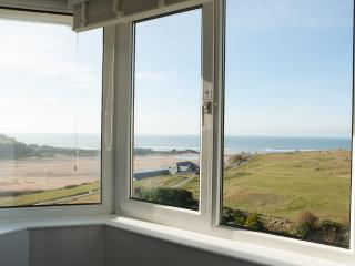 Panoramic Sea View Bude views of Summerleaze & Crooklets Beaches Bude Cornwall