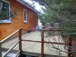 Outside decking for relaxing & having barbecues