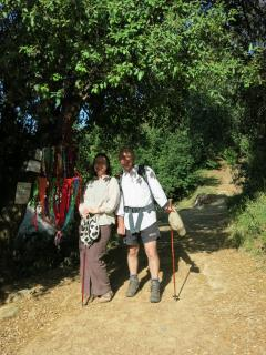 Guests out walking the Sendero