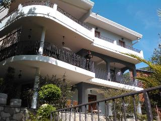 Holiday villa Neda with pool, sea view, 200m beach