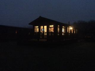 Night time at Diva Lodge
