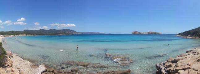 Foto panoramica Baia Chia