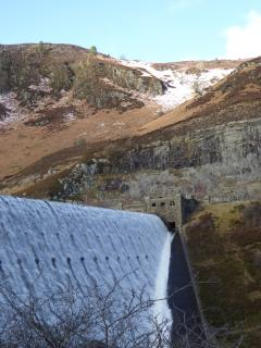 Head to Rhayader for the Elan Valley dams and reservoirs. Beautiful at all times of the year.