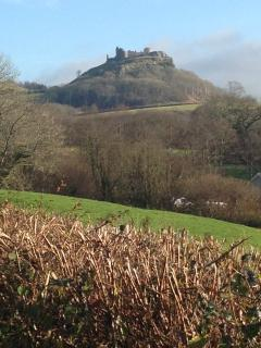 Carreg Cennen Castle is a fifteen minute drive away and is a great day out.