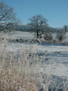 The National Botanic Garden of Wales is a ten minute drive away.