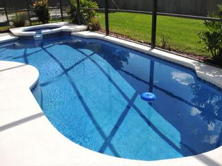⭐MODERN 7 Bed VILLA⭐Private Pool & Spa/ LOVELY Patio/ Game Room/ Wii/Near Disney