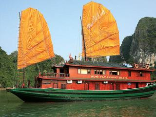 Bai Tu long junks, Halong Bay