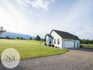 300 feet of beautiful river front on 10 acres of lush meadow!, Bigfork