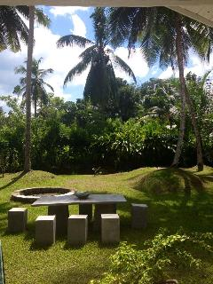 Over 1 acre of stunning tropical garden to rewind and relax