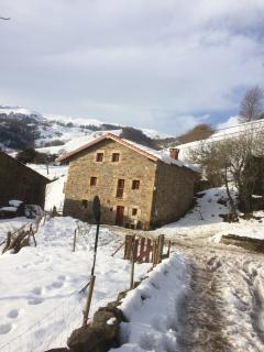 CasaZarín nevado