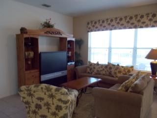 Family Room with 52' screen TV