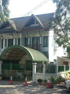 House front and canopy