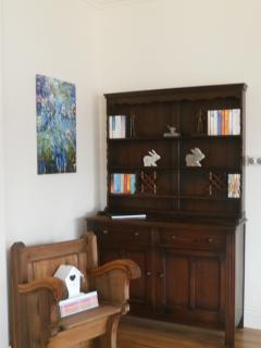 A selection of books, magazines and DVDs are available during your stay.