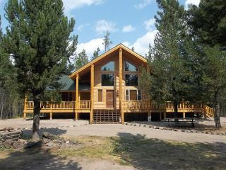 Moose Tracks is a brand new cabin just waiting for your family memories., Island Park