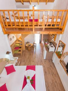 apartment view open loft type