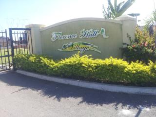 Tranquil, green and quiet  gated community that offer 24 hrs security on the North Coast of Jamaica