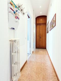 Corridor towards the Bathroom