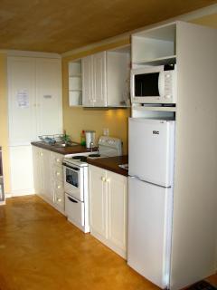 Kitchenette in Garden Apartment