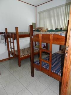 First floor bedroom with 2 bunk beds
