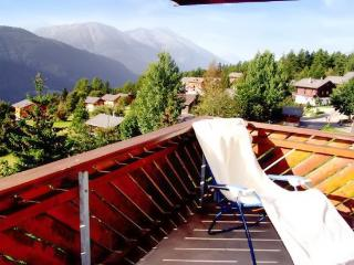 Flat with view of the Swiss alps, Fiesch in Valais