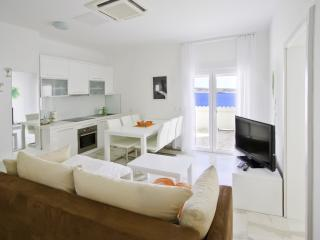 Stunning apartment steps from beach (6) sleeps 4+1, Novalja