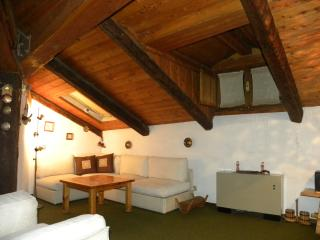 attic flat on pedestrian street, Cesana Torinese