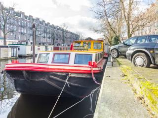 Authentic BARGE in hip area!, Amsterdam