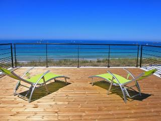 Villa de la plage, jacuzzi accès direct à la plage, Plouescat