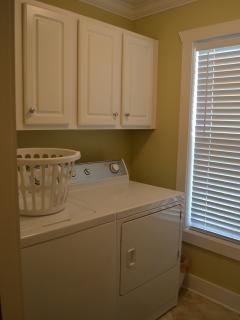 Laundry room downstairs