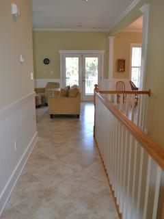 Upstairs Hallway from Bedrooms